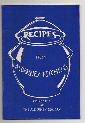 Recipes From Alderney Kitchens, 40 Page Cookery/recipe Book