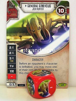 Star Wars Destiny - 1x #003 General Grievous + Die - Awakenings