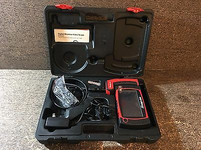 PERFECT Snap On Digital Wireless Video Scope #BK8500-3 - Mint Condition