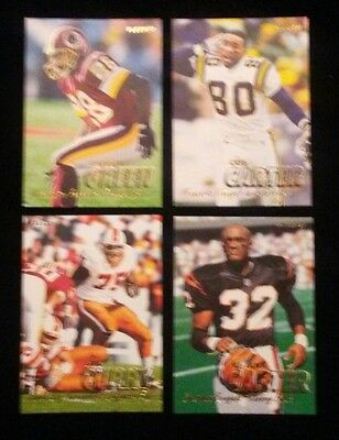1997 Fleer & Million Dollar Moments Football Complete your set 10 cards $1.50