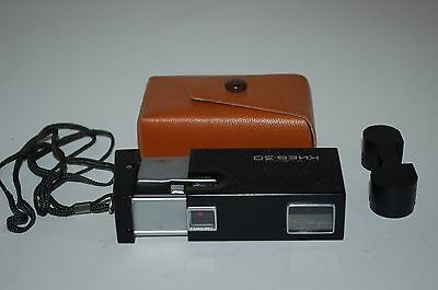 Kiev 30 Vintage 1981 Sub Miniature Camera. With Case. Good Condition. No.8125885