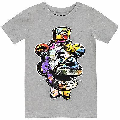 Five Nights At Freddy's T-Shirt | Boys FNAF Tee | Kids Five Nights at Freddys To