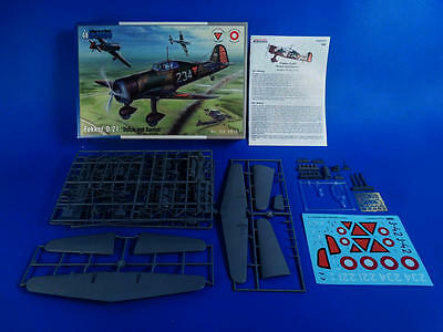 "SPECIAL HOBBY 48181 Fokker D.21 ""Dutch and Dannish"" in 1:48"