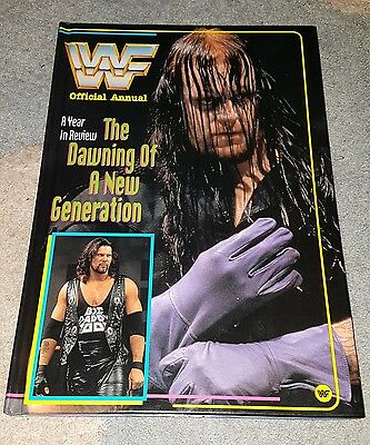 WWF annual 1996. WWE / WRESTLING. Mint condition.