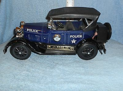 Beam's  Model A   Police Car   Porcelain   Empty   Decanter  With Box