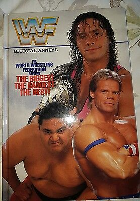 WWF annual 1995. WWE / WRESTLING. Mint condition.