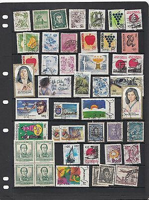 Chile - Chili Lot Collection Accumulation - Used Mostly Vf