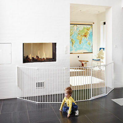 New Babydan Xxl Room Divider / Configure Baby Safety Gate White 90-360Cm