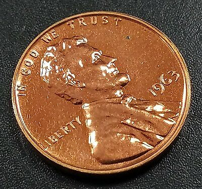 1963 Proof Lincoln Cent!