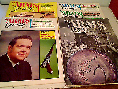 Luger Collector's Must-Have Group Of 5 Issues Arms Gazette 1970's Ralph Shattuck