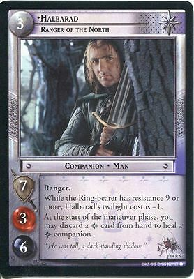 Lord Of The Rings CCG TCG Expanded Middle Earth Card 14R9 Halbarad Ranger North