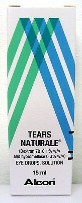 Tears Naturale Eye Drops Artifical Tears 15ml