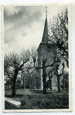 Cpa Photo Escanaffles Eglise