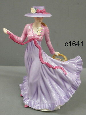 Royal Doulton Pretty Ladies JULIE Pink Lilac Figurine HN5374 NEW in box