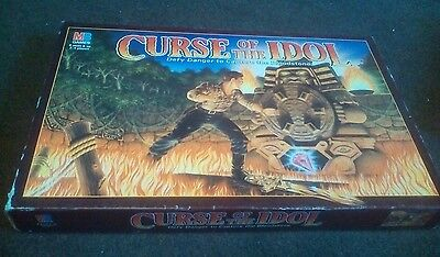 Mb Curse Of The Idol Complete Board Game