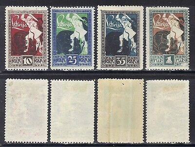 Lithuania 1919-20 set.Sc.64-7.