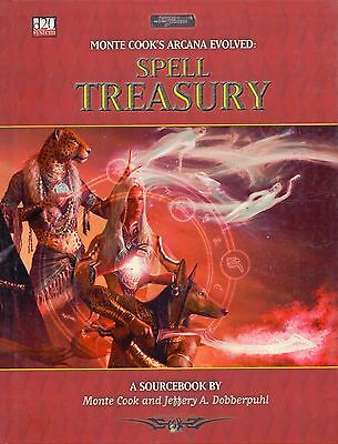 D20 Sword & Sorcery Monte Cook's Arcana Evolved Spell Treasury