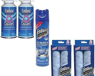 Endust NOZMULTIKIT Anti-static Cleaner Electronics Duster & Microfiber Towel