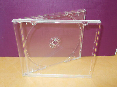10  Cd Case With Clear Tray