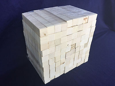 "5//8/"" sqr * 100 PCS * Holly American lumber wood turning squares pen blanks"