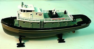1 TEXACO 1st in the series Fire Chief Tugboat Bank DIECAST Bank