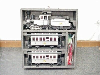 LGB G Scale Limited Edition 120th Anniversary Steam Engine Train Set # 29151