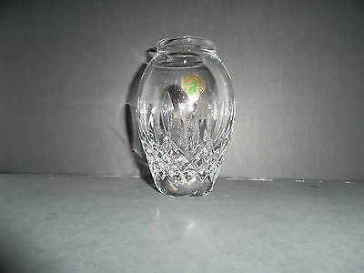 """Waterford Crystal Lismore Candy 5"""" Vase New In Box ~ 1St Quality"""