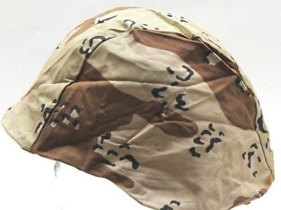 Desert Camo PASGT MICH FRITZ Helmet Cover Medium Large each h9449