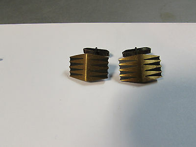 Vintage CECILIA TONO Mexican Sterling Silver CUFF LINKS cufflinks Taxco signed