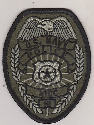 Navy Information Operations Command (NIOC) HI Police patch