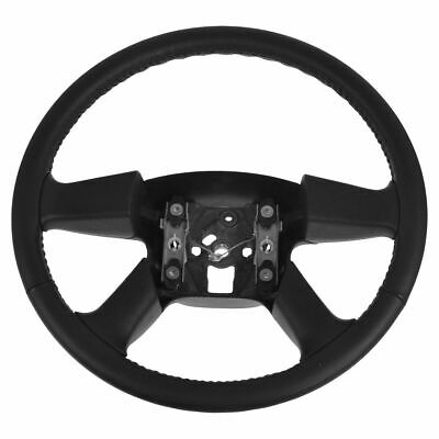 OEM Steering Wheel Black Leather for Chevy GMC Cadillac Pickup Full Size SUV New