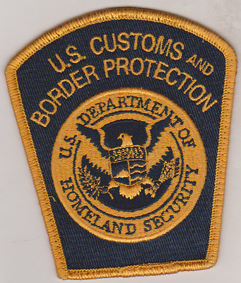 US Customs and Border Protection patch