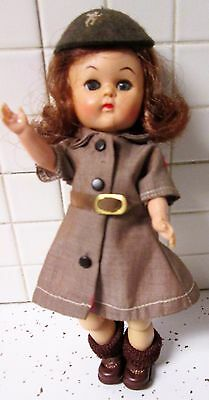 Cosmopolitan Ginger doll in Terri Lee Girl Scout Brownie Uniform