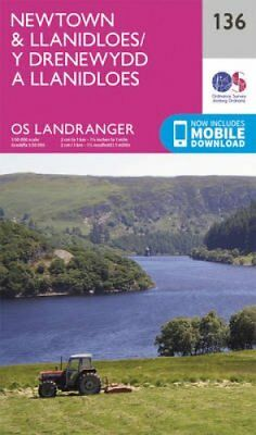 Newtown & Llanidloes by Ordnance Survey 9780319262344 (Sheet map, folded, 2016)