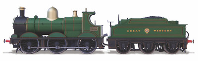 Oxford Rail OR76DG001 Deans Goods Steam Locomotive - GWR 2309