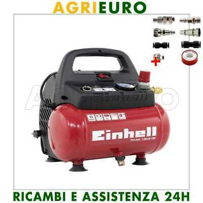Compressore compatto coassiale Einhell TH-AC 195/6 OF motore 1.5 HP - 6 lt