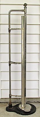 """Antique Country Store Nelson Vertical Paper Roll Dispenser / Cutter For 36"""" Roll"""