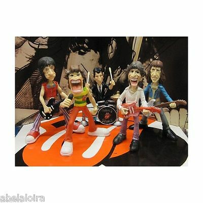 The Rolling Stones Figuras Figures Mick Jagger Keith Richards Figure New