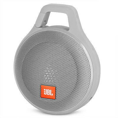 JBL Clip Plus Portable Wireless Bluetooth Travel Speaker System - Gray