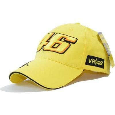 Valentino Rossi 46 Hat Embroidery Baseball Cap Motorcycle Racing VR46 Sport C