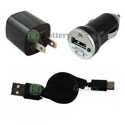 NEW USB Type C Cable+Car+Wall Charger for Motorola Moto Z / Z Force/Z Play Droid