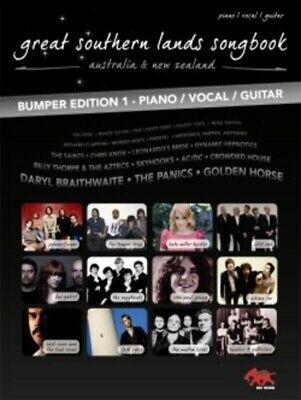 GREAT SOUTHERN LANDS - Bumper Ed. PVG Book *NEW* Music, Songs, Rock, Pop Aussie