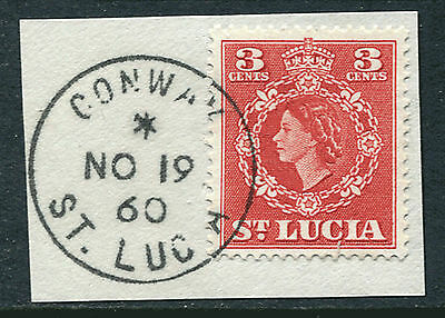 ST. LUCIA: (11626) CONWAY postmark/cancel
