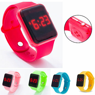 Electronic Digital Kids/Child/Boy's/Girl's Waterproof LED Display Watch New