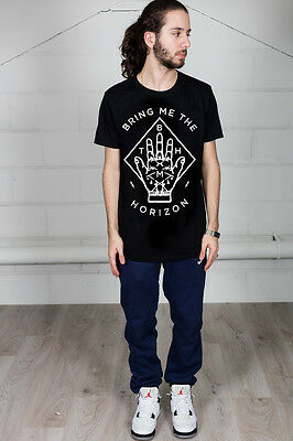 Official Bring Me The Horizon Diamond Hand Unisex T-Shirt Wolf Bones Sempiternal