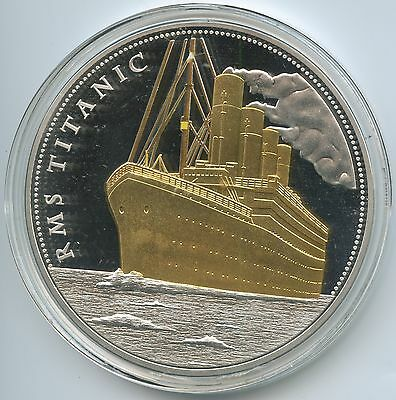 GX765 - Medaille Gigant RMS Titanic - 100 Jahre White Star Line 1912-2012 PP