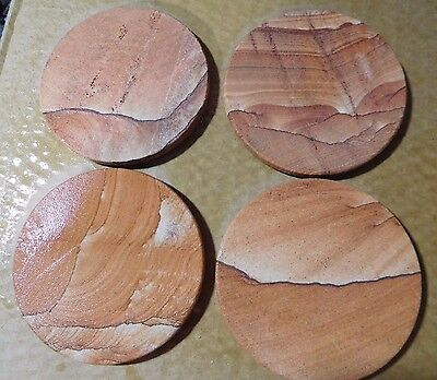 Sandstone Coasters-Set of 4