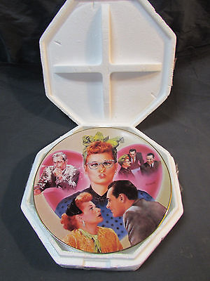 1996 I Love Lucy Hamilton L.A. At Last Lucy Meets the Stars Collector Plate