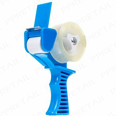 Hand Held TAPE DISPENSER Present Gift Wrapping Office Sellotape Roll Cutter Gun