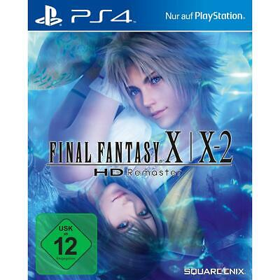 Final Fantasy X 10 X-2 10-2 HD Remaster Sony PS4 Spiel Playstation 4, NEU&OVP